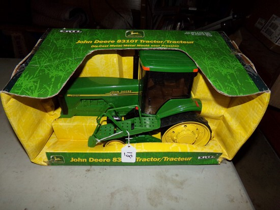 John Deere 8310T Tractor In 1:16 Scale By Ertl In Rough Box