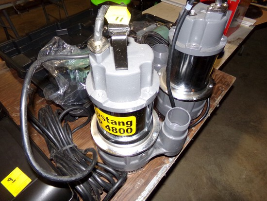 New Mustang MP4800 2'' Submersible Pump