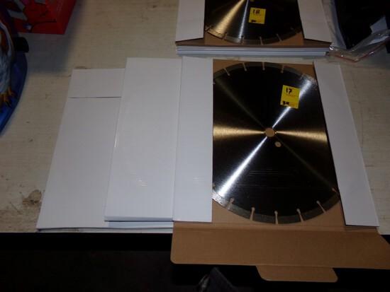 (3) New 14'' Premium Diamond Blades (3 x Bid Price)