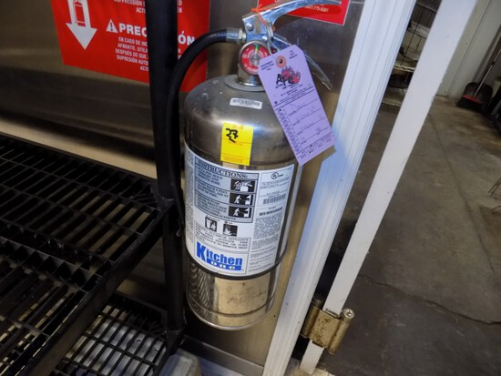 Kitchen 1 SS 6-Liter Food Grade Fire Ext.