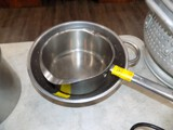 Stainless Strainer & Heavy Duty 3 Qt. Pot