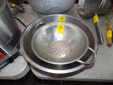 (2) Strainers - (1) Stainless & (1) Aluminum