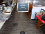 Free Standing Sign - Brass w/ Multiple Messages