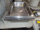 (3) Large Steam Table Serving Pans- (2) Deep, (1) Shallow