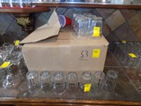 (53) Mixed Drink, Juice Glasses, 6 Oz. Size