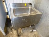 Eagle Stainless Steel 24'' Under Bar Draink Sink, NO Faucet