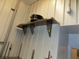 (2) Stainless Steel Wall Shelves - (1) Is 5' x 12'', (1) Is 4'x12'' - Buyer