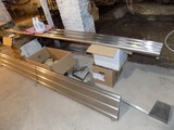 (2) Stainless Steel Shelves, 120''  & 107'', Used To Be Fold Down