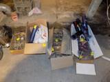 (4) Boxes of Asst. Glassware & Plastic Drinking Cups - Coke, Pepsi & Plain