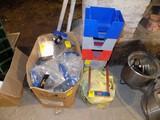 Box Full of Table Drink Menu Holders & (6) Napkin / Straw Holders