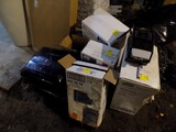 Group of New Bathroom Tissue Dispensers, Soap Dispensers, & Paper Towel Hol