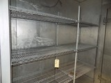 4-Tier SS Wire Shelf Set - 78'' Wide, 6' Tall (In Cooler)