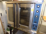 Duke Elec. Convection Oven, Dbl. Door, 38'' Wide x 59'' Tall, On Legs