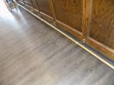 Brass Foot Railing At Base Of Bar, Real Nice, 20'4'' & 8'8'', Super Nice!