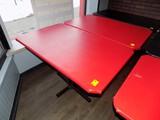 (2) Pedestal Dining Tables - 30'' x 48'', Nice, (2x Bid Price)