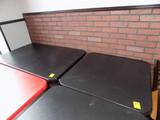 (2) Pedestal Dining Tables - (1) 30'' x 48'' (1) 30'' x 30'', (2x Bid Price