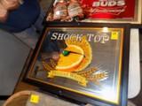 ''Shock Top'' Wall Mirror, 26''W x 21''T