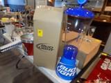 New Clear Bud Light Table Beer Dispensor, Missing Spigot