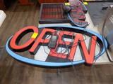 Light Up Open Sign