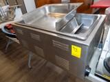 Food Warmer w/ Chaffing Dish, Adjustable Heat Setting