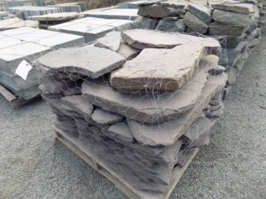Lilac Tumbled Wall/Colonial Stone, Sold by Pallet