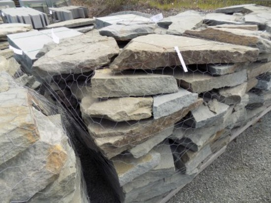 Heavy, 3'' x 6'' x Assorted Size, Colonial Stone, Sold By Pallet