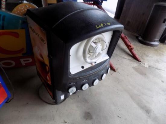 5 Head Power Cappucino Machine