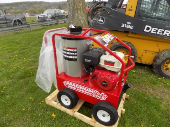 New Easy Klean Magnum, 4000 Series Gold Pressure Washer, Self Contained, Ga