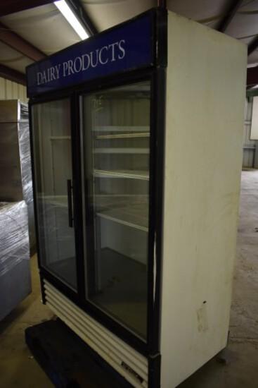 TRue Dbl Glass Door Comm'l Cooler (7E)