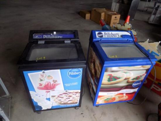 (2) Pilsbury Elec Adj Temp Coolers