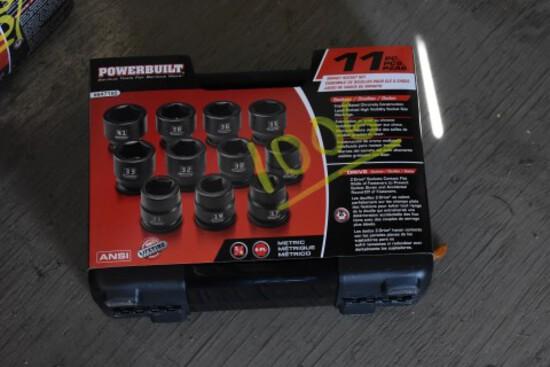 PowerBuilt Impact Drive Socket Set 3/4'' (1006)