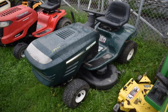 Craftsman Riding Mower w/42'' Deck, Runs, S/N: 015600  (7421)