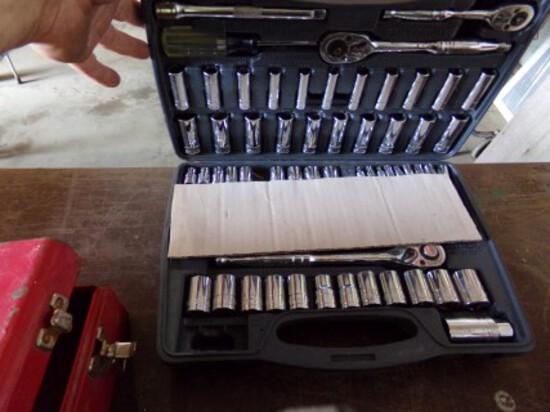 Powerbilt Ratchet & Socket Set - Missing a Couple Pieces