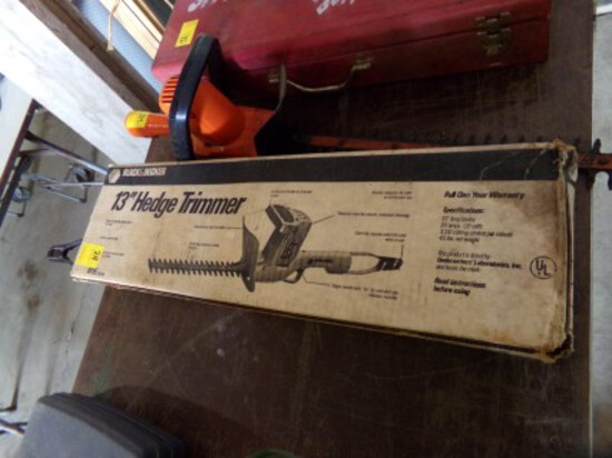 (2) Electric Hedge Trimmers