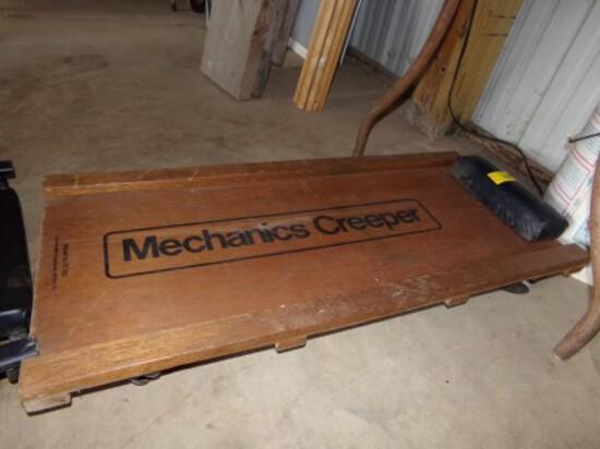 Wooden Mechanics Creeper