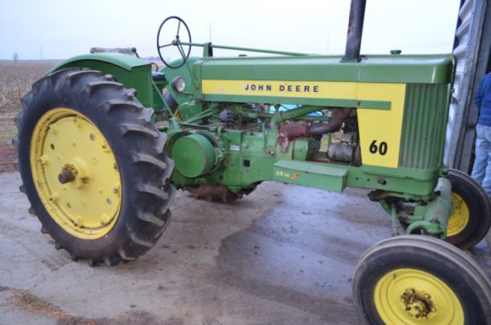 1953 JD 60 Tractor