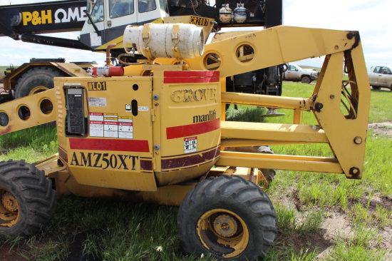 Grove AMZ 50XT 2-person Manlift