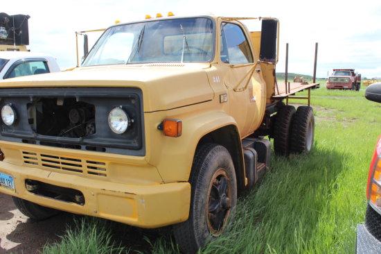 1980 Chevy C70 Dump Truck
