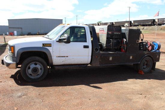 2002 Chevy K3500 1 ton welding truck