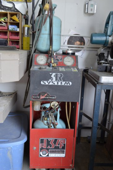 White Industries 3R System, R134A Refrigerant System