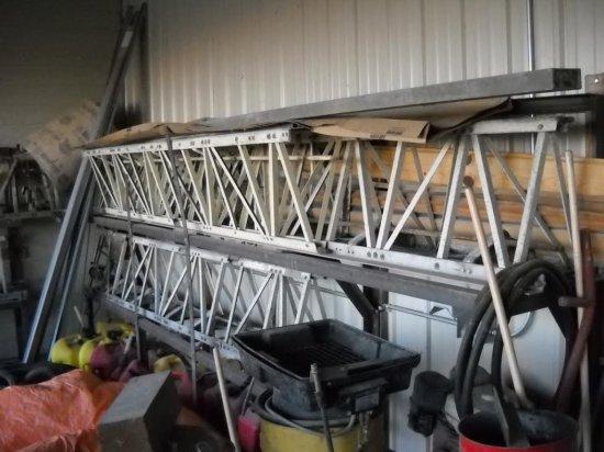 52'Morrison Super Screed Aluminum Power Concrete Screed w/ Honda Motor