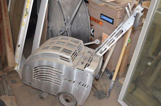 Soff-Cut  X-450 Gas Concrete Saw