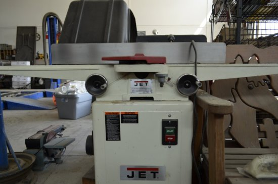 """Jet 6"""" Long Bed Wood Working Jointer"""