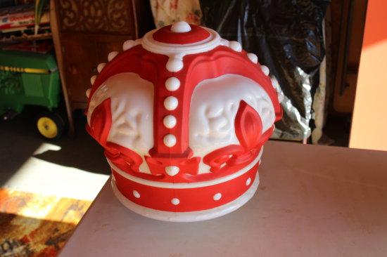 Original Red Crown Gas Pump Globe