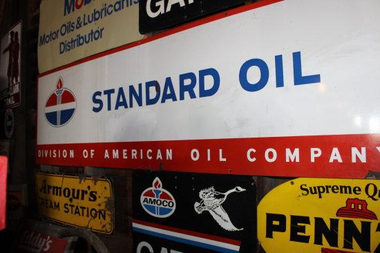 8' Standard Oil Sign