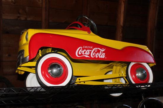 Coca-Cola Peddle Car