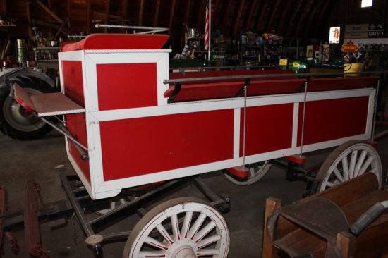 Red & White Wagon