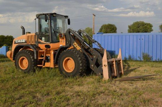 2010 Case 721 E XT (Tool Carrier) Wheel loader