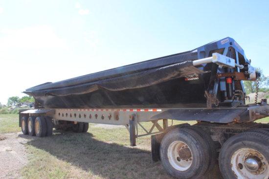 2009 Manac 34ft Side Dump Trailer