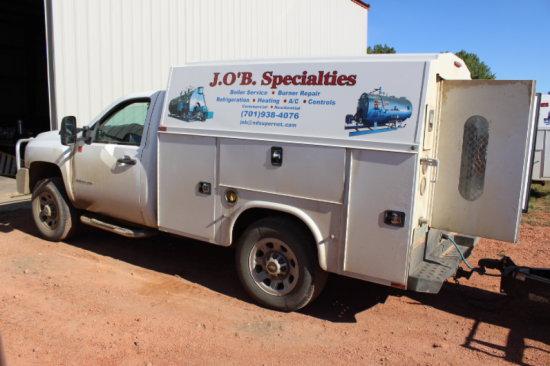 2014 Silverado Chev. 3500 HD Service Truck